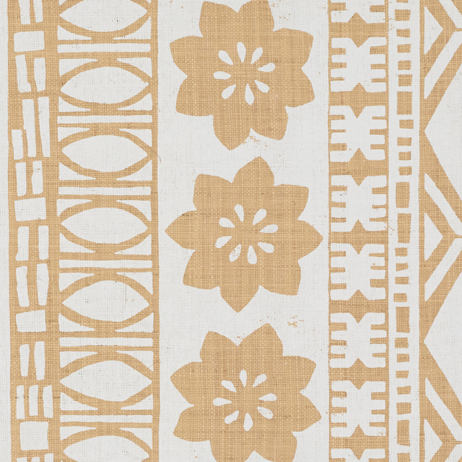 Schumacher Mary McDonald Mrs. Howell Natural Grasscloth Wallcovering 5007330 (PRICE IS PER YARD.  SOLD IN 10 YARD INCREMENTS)