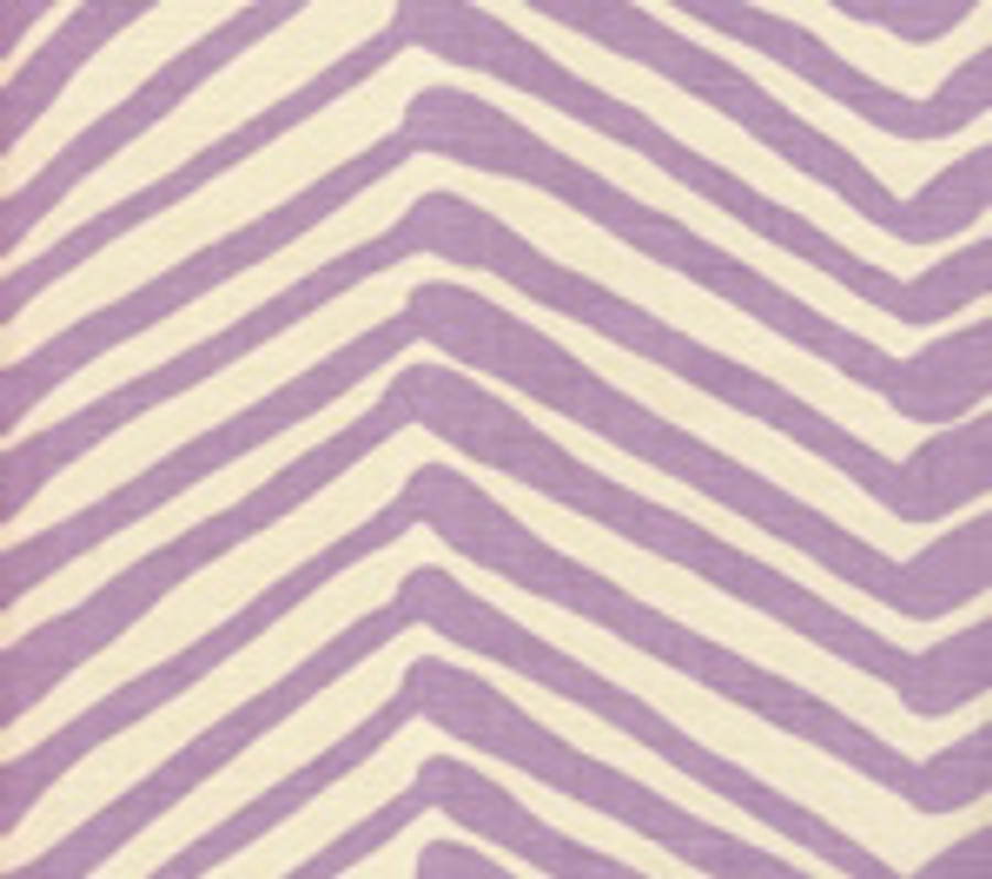 Quadrille Zig Zag in Lavender