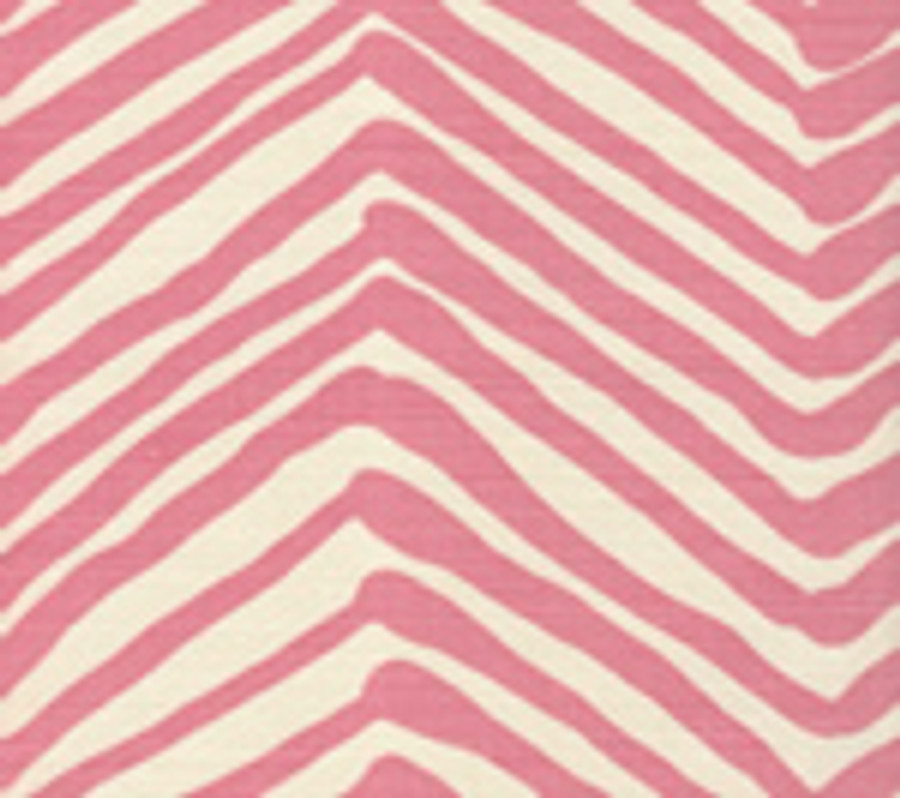 Quadrille Zig Zag in Pink