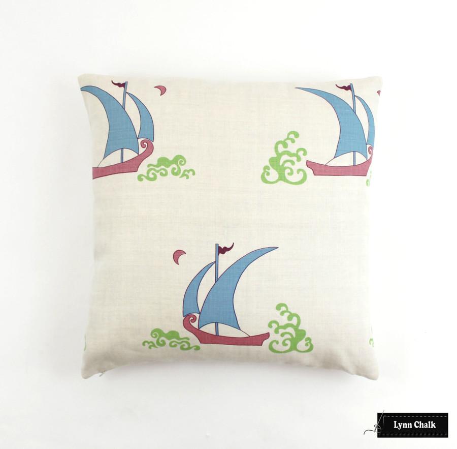 Katie Ridder Beetlecat Pillows 18 X 18 in Ultramarine