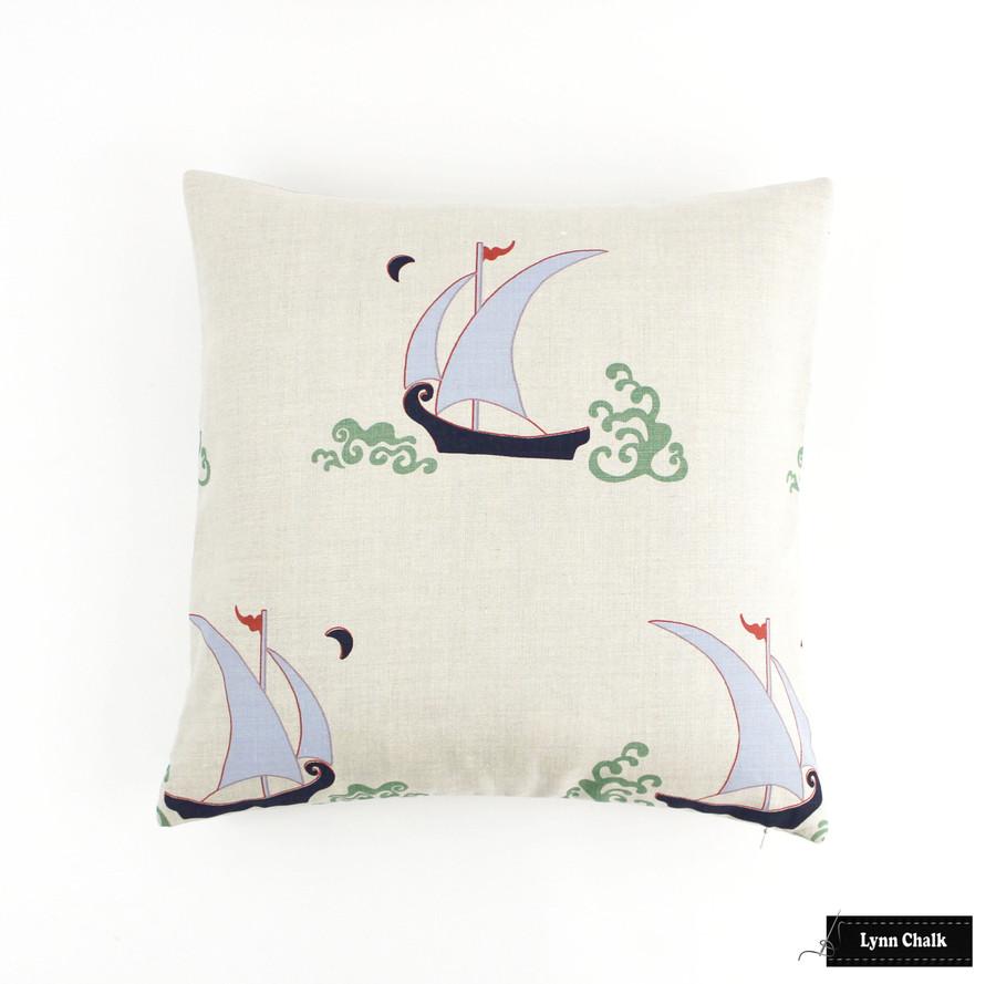 Katie Ridder Beetlecat Pillows 18 X 18 in Lavender Blue