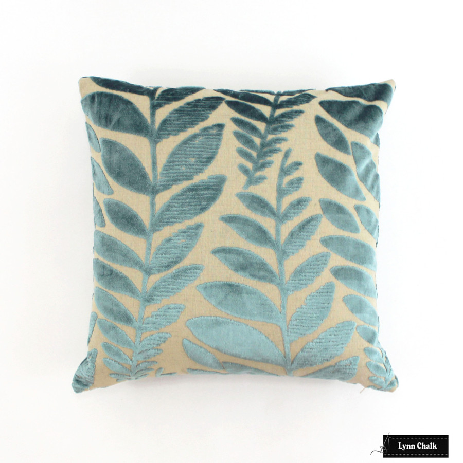 Kelly Wearstler for Lee Jofa Sea Urchin Custom Pillows in Ivory/Ebony (Both Sides)