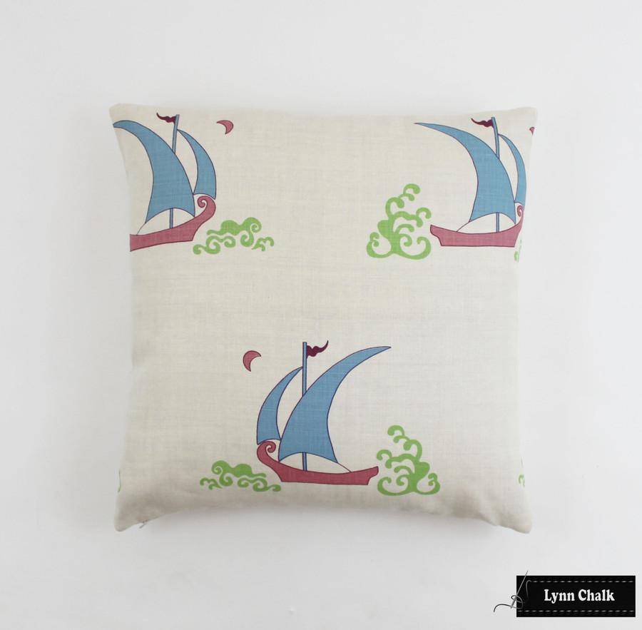 18 X 18 Pillow in Beetlecat Ultramarine