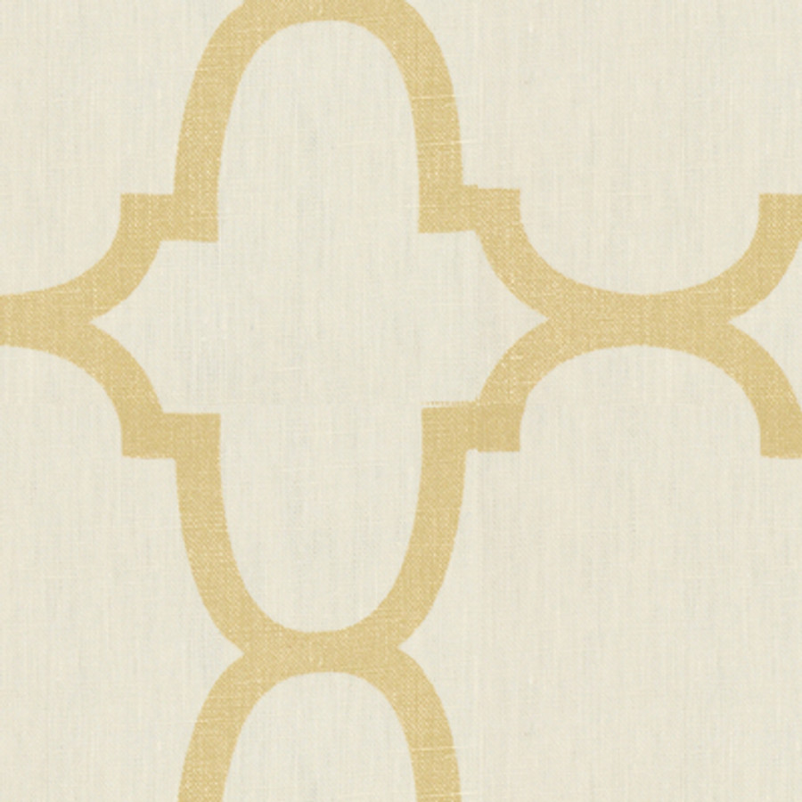 Kravet Windsor Smith Riad Pearl in Gold