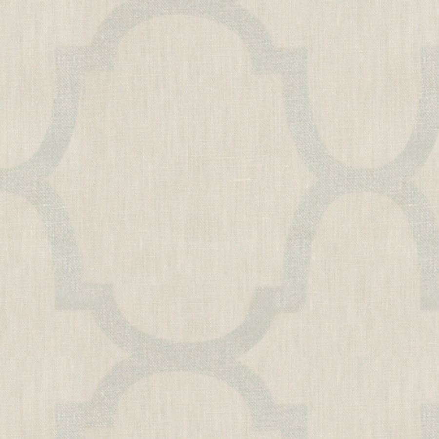 Kravet Windsor Smith Riad Pearl in Silver