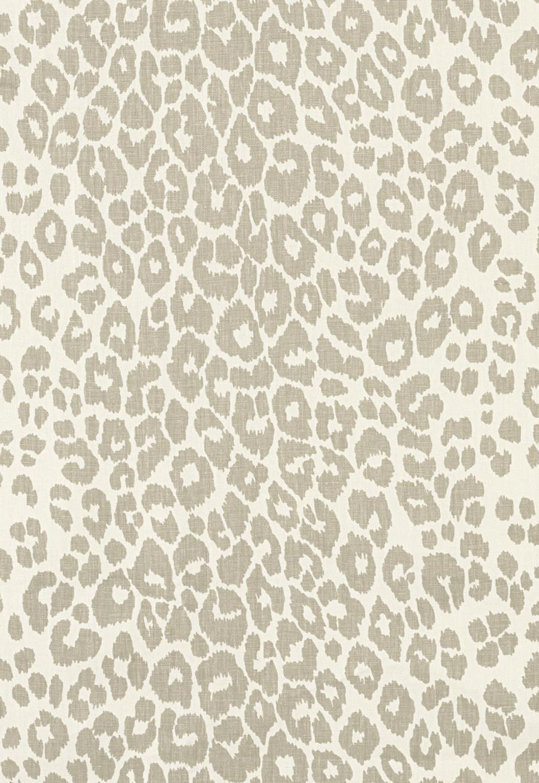 Schumacher Iconic Leopard Linen