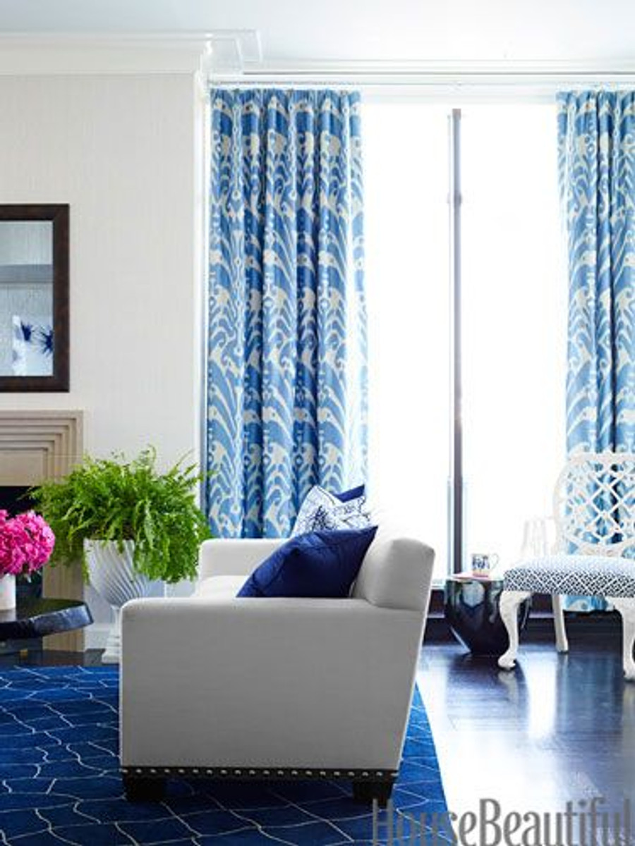 Drapes in Dedar Ikat 9008/07