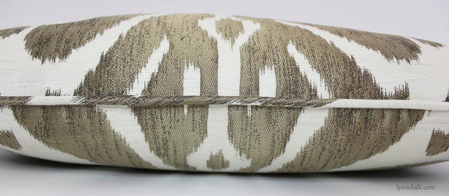 Dedar Ikat 9008 Pillows with Welting