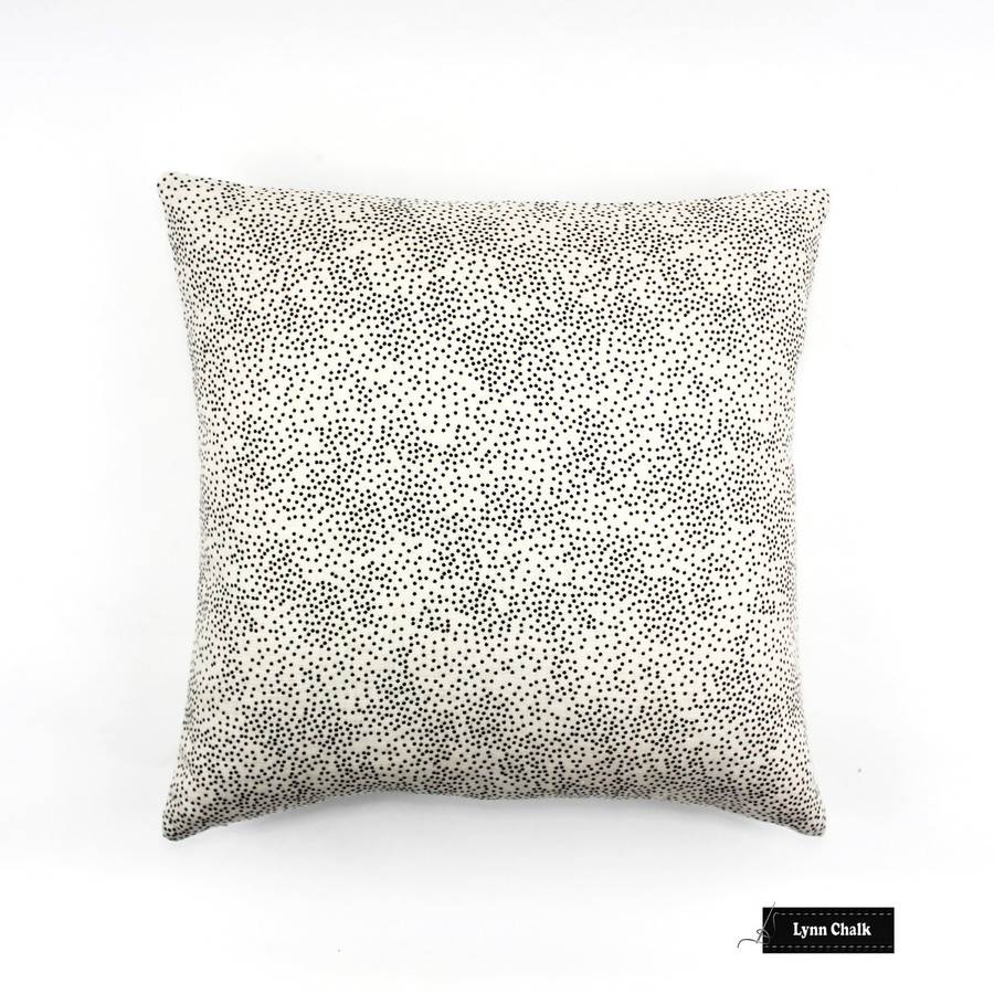 ON SALE 50% Off -Kelly Wearstler Confetti in Cream/Ebony 22 X 22 Pillow (Both Sides-Made To Order)