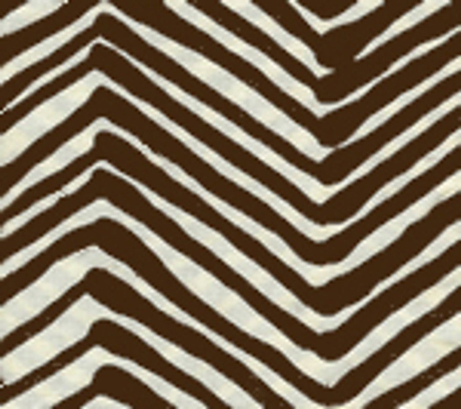 Quadrille Zig Zag in Brown