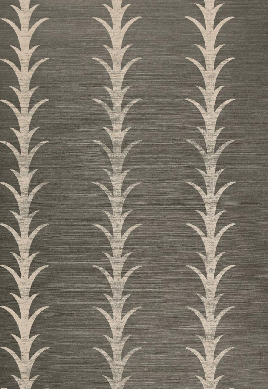 Acanthus Stripe Fog & Chalk