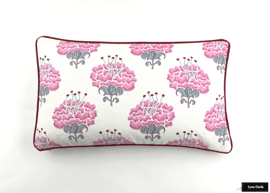 Katie Ridder Peony Wallpaper (Shown in Pink-comes in 7 colors)
