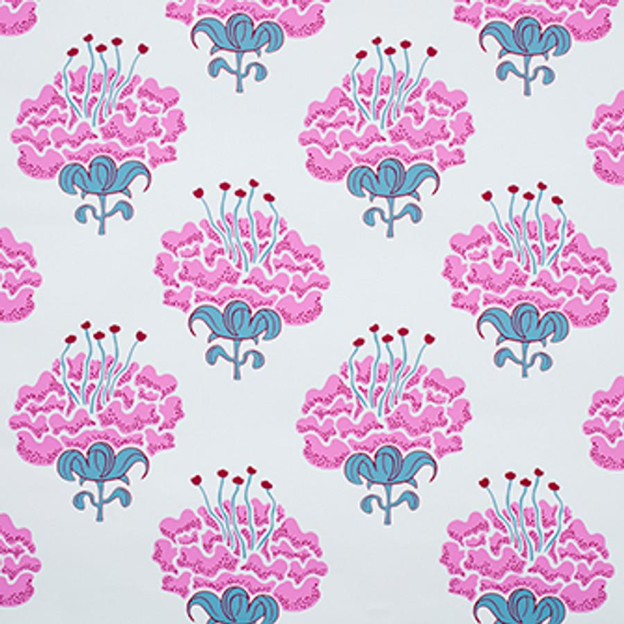 Katie Ridder Peony Wallpaper Raspberry