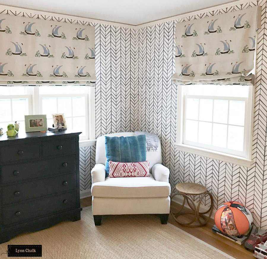 Katie Ridder Beetlecat Wallpaper in Apricot (comes in 4 colors)