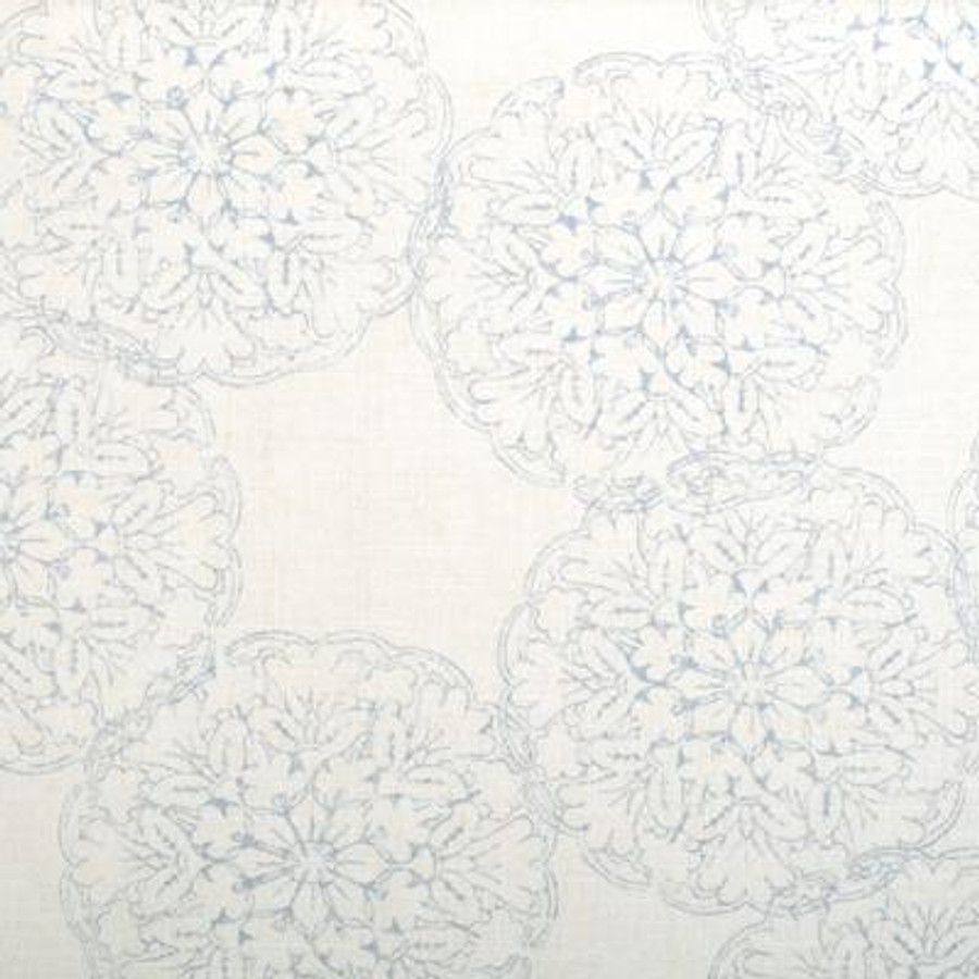 John Robshaw Danda for Duralee 21034 Drapes (shown in Light Blue-comes in 4 colors)