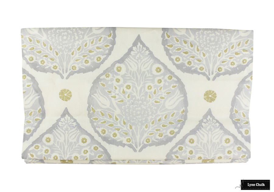 Roman Shade in Lotus Dove Grey