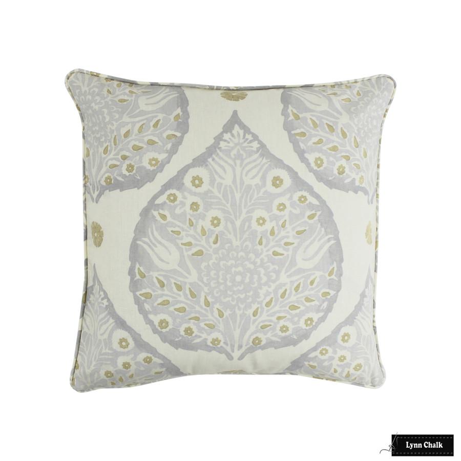 Lotus Pillow in Dove Grey