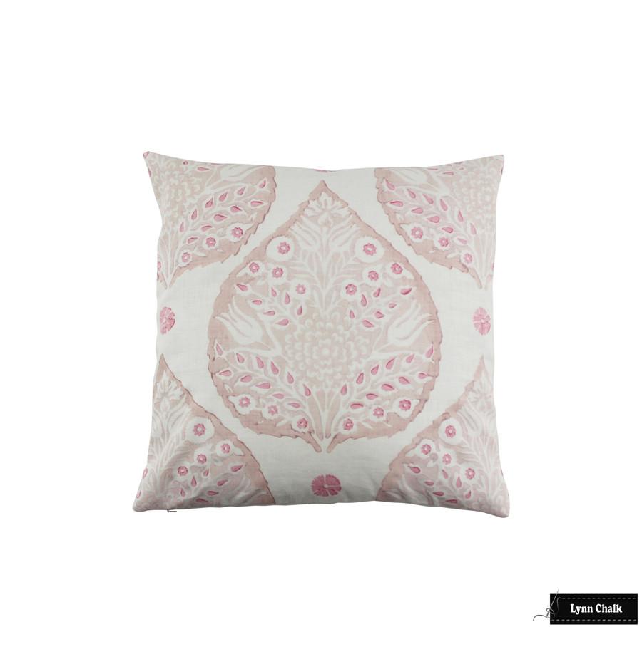 Galbraith & Paul Lotus Pillow in Custom Color