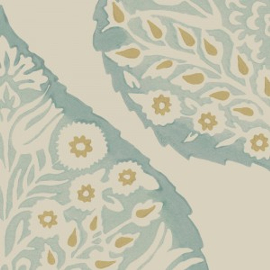 Lotus Wallpaper Aqua