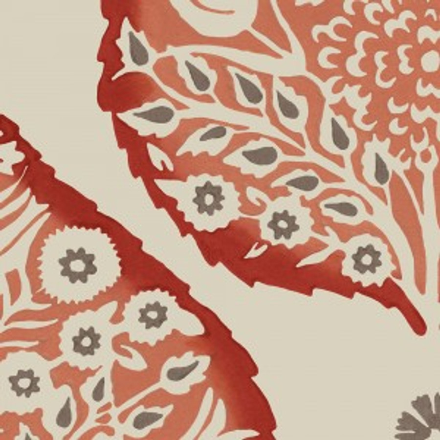 Lotus Wallpaper Crimson