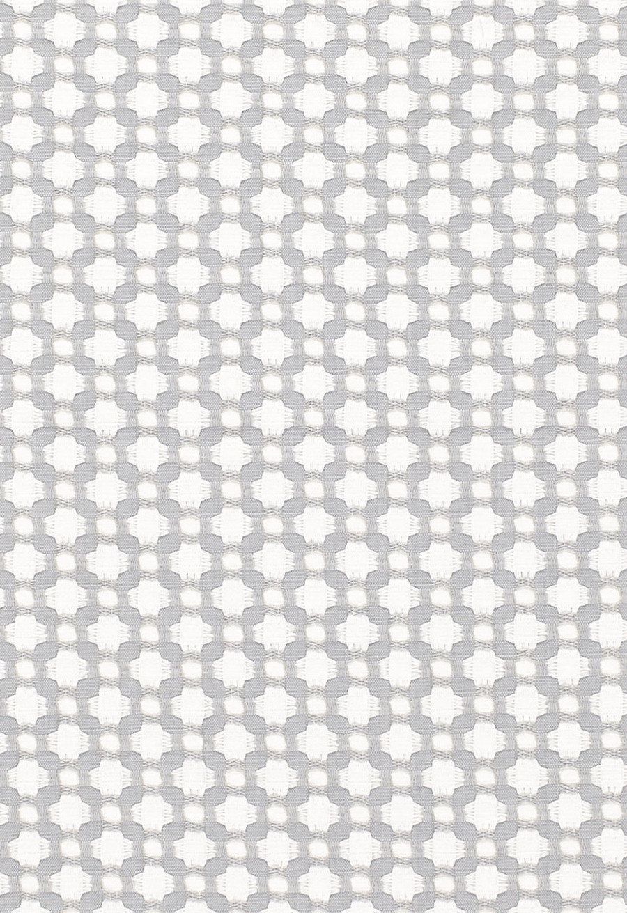Schumacher Celerie Kemble Betwixt Zinc Blanc