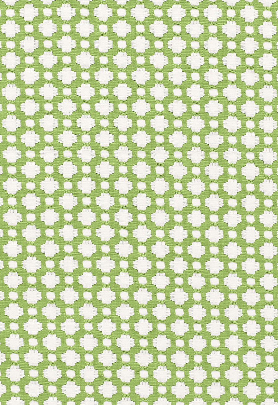 Schumacher Celerie Kemble Betwixt Leaf Blanc