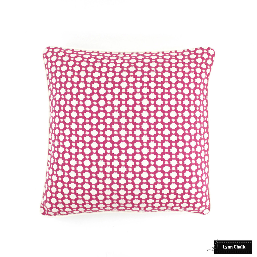 Pillow in Betwixt Magenta/Natural