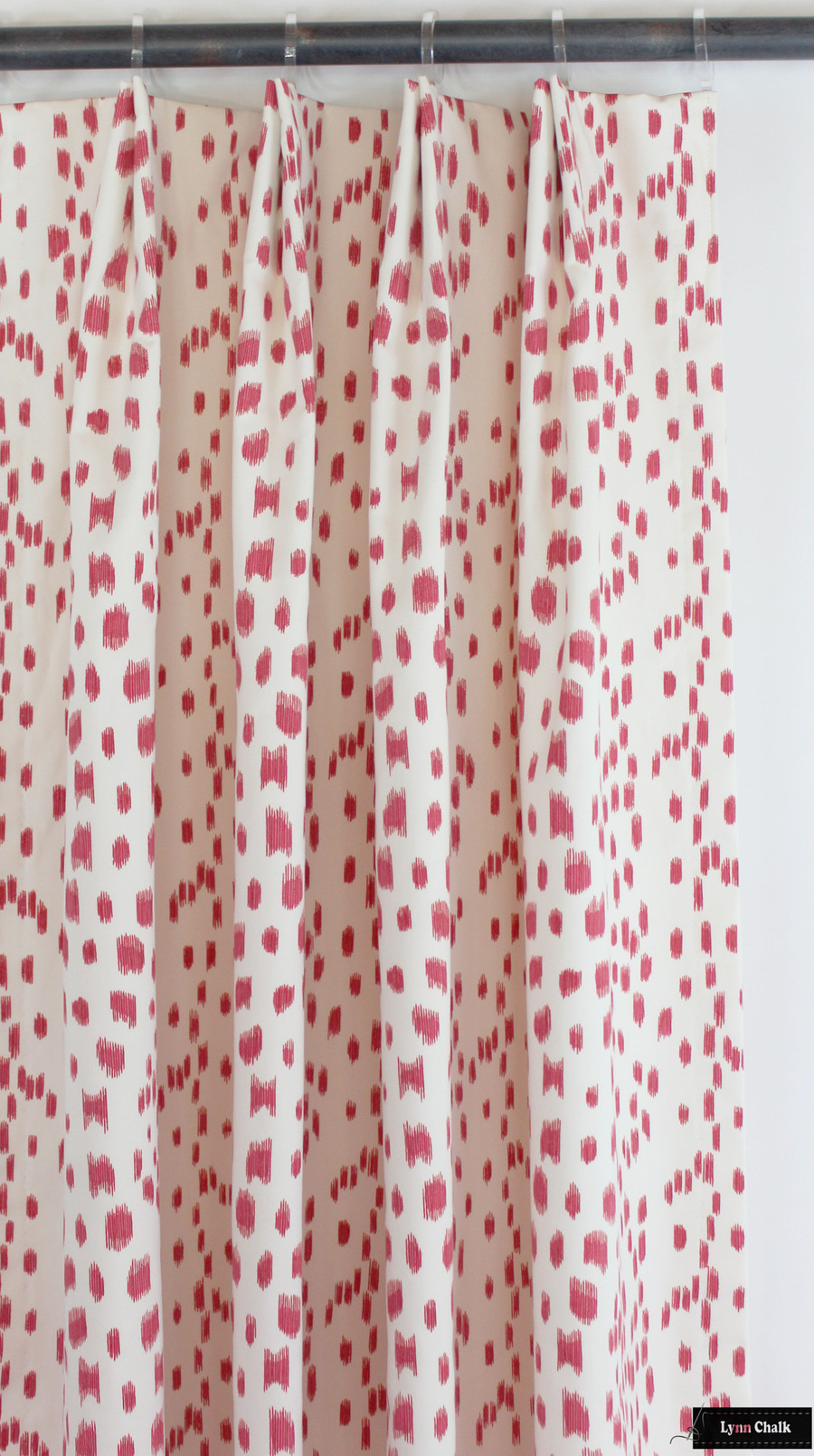 Brunschwig & Fils/Lee Jofa Les Touches Knife Edge Pillows in Pink