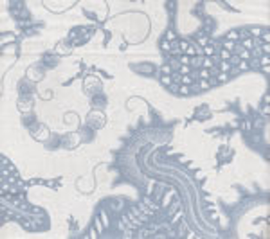 Indramayu Bali Blue on White 103-21