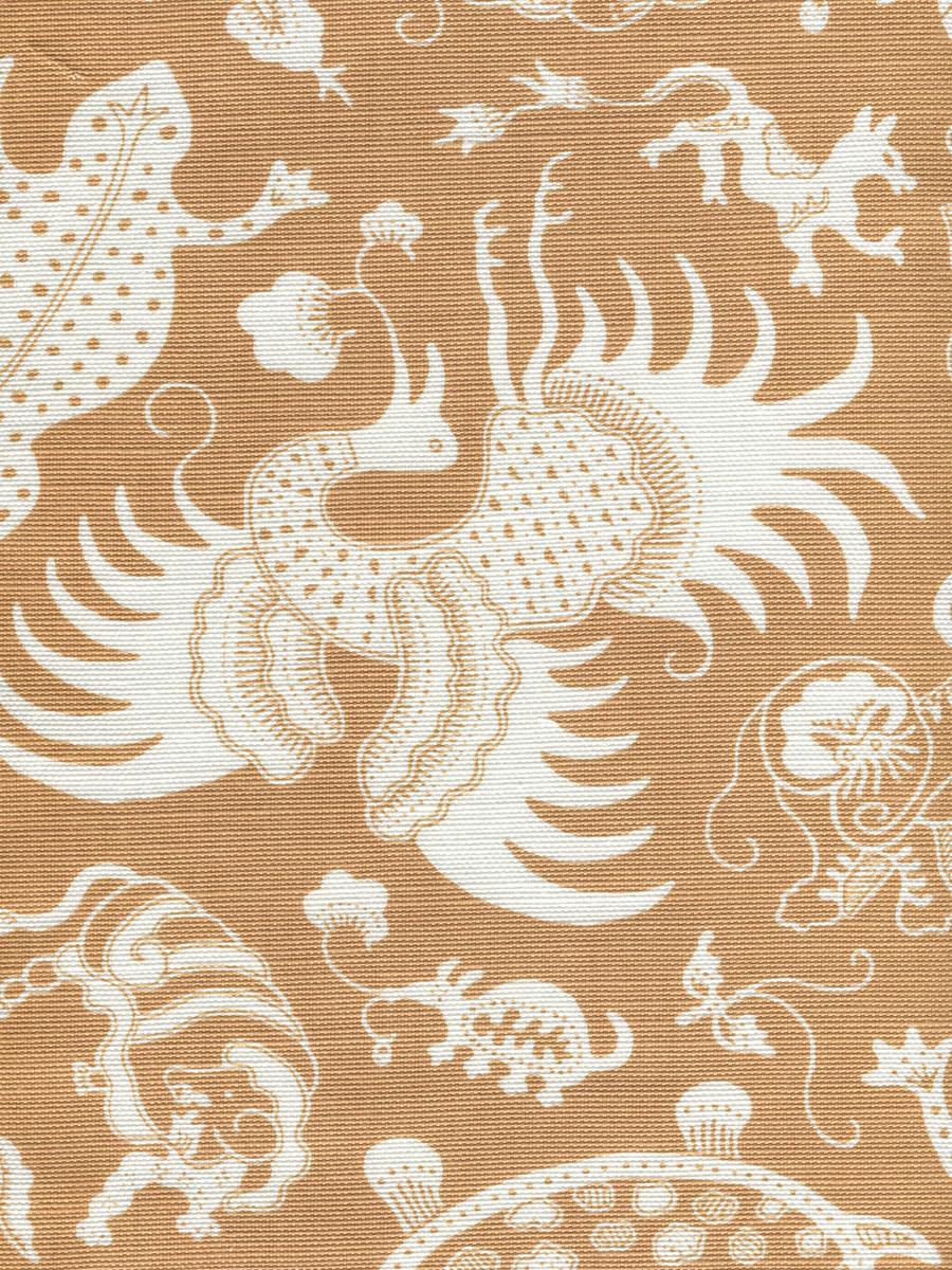 Indramayu Reverse New Camel on White 9010-04