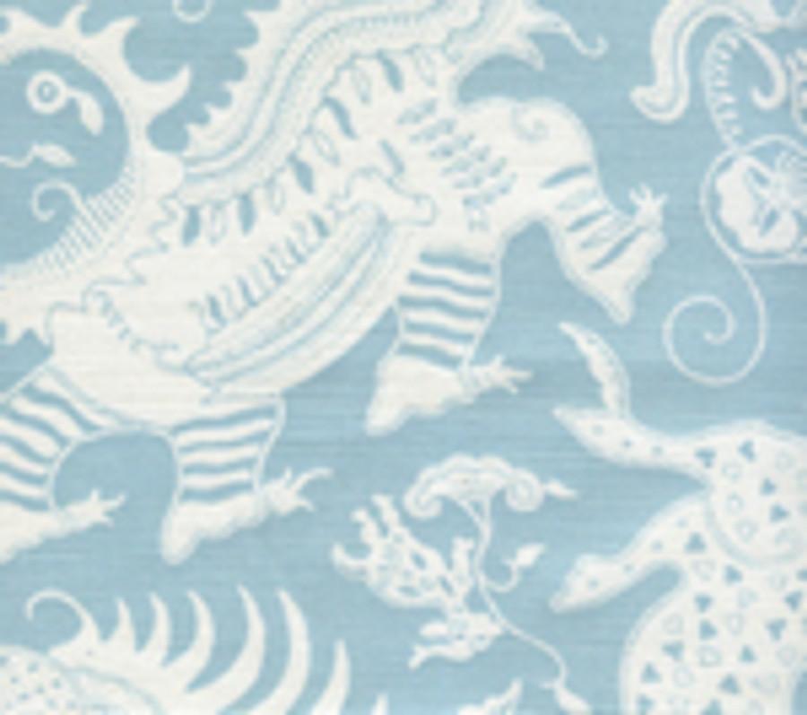 Indramayu Reverse Bali Blue on White 103-021