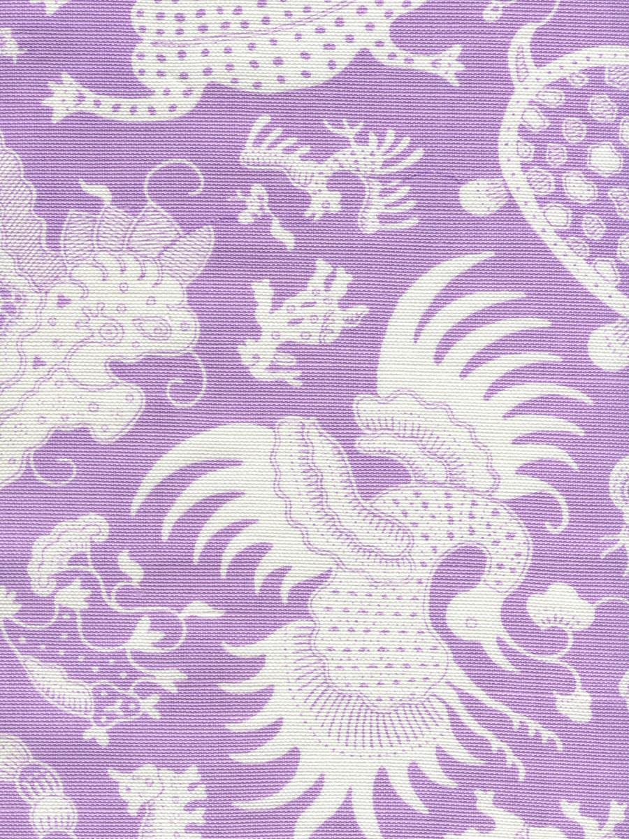 Indramayu Reverse Lavender on White 9010-02