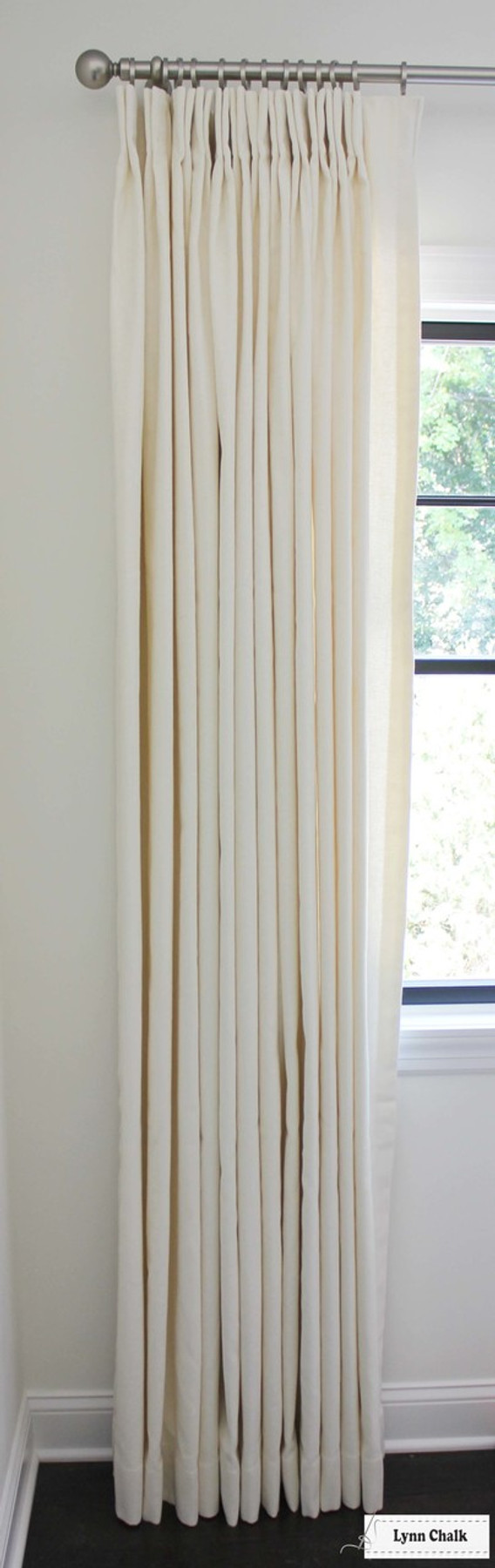 Trend 01838T Coconut (2 1/2 Widths).  Hardware is Aria Abode Collection in Brushed Nickel.