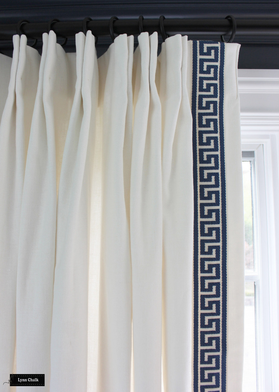 Trend Linen/Cotton 01838T Drapes (shown in Quarry-comes in many colors)