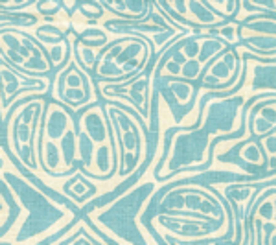 San Michele Turquoise on Beige-302259F