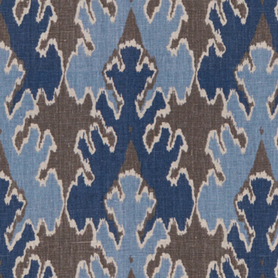 Kelly Wearstler Bengal Bazaar Grey Indigo GWF-2811_511