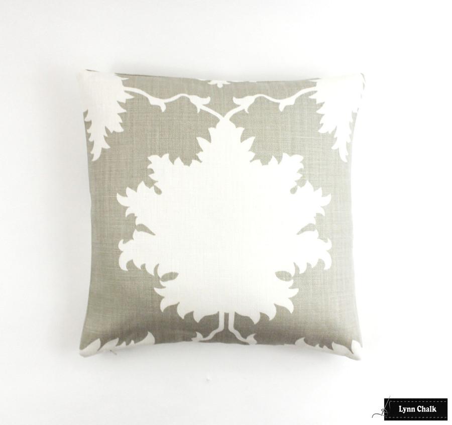 Garden of Persia Dove Pillow (18 X 18)