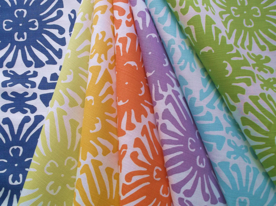 Sigourney Small Scale Fabric Colors