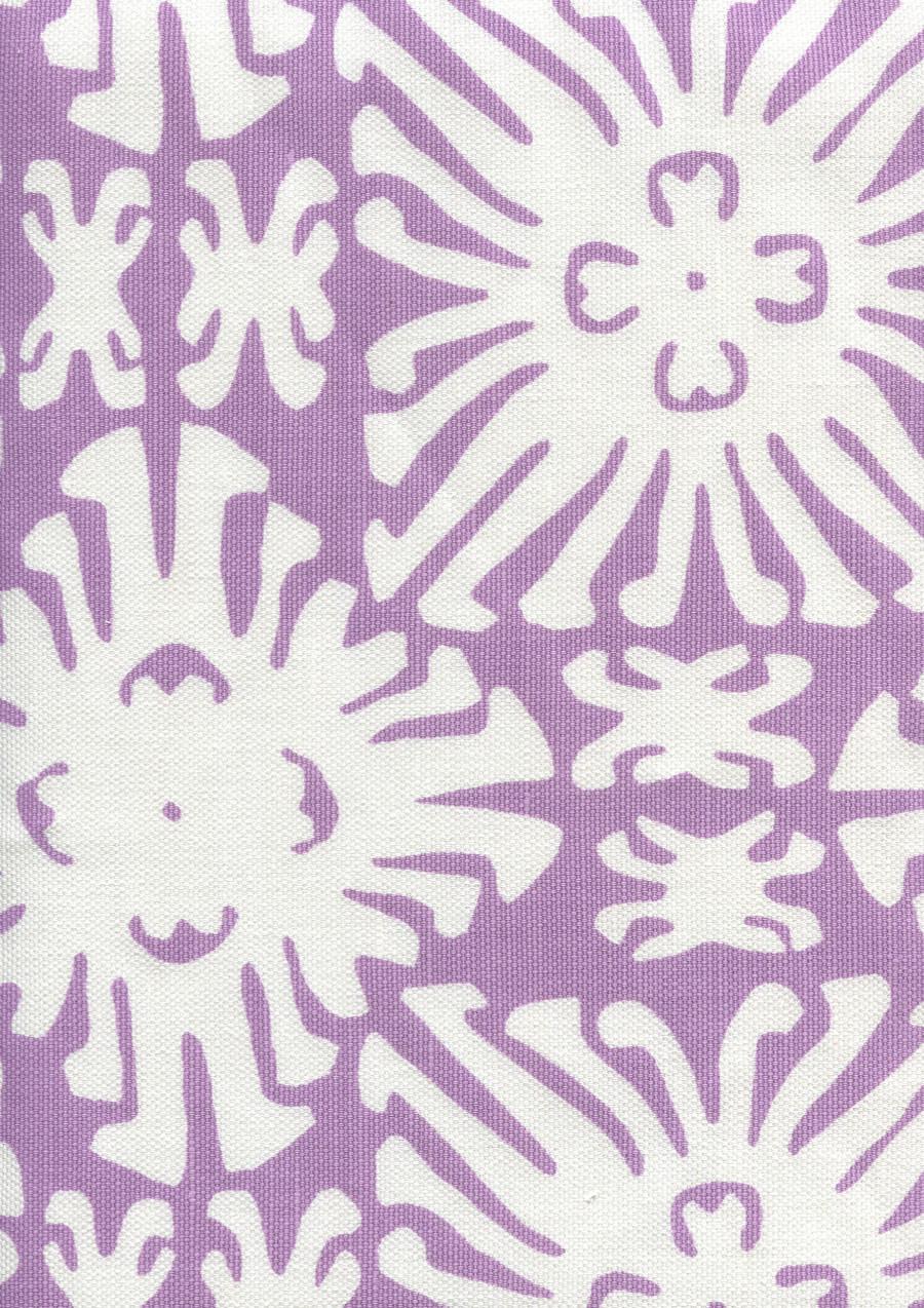 Sigourney Reverse Small Scale Lavender on white 2485 05