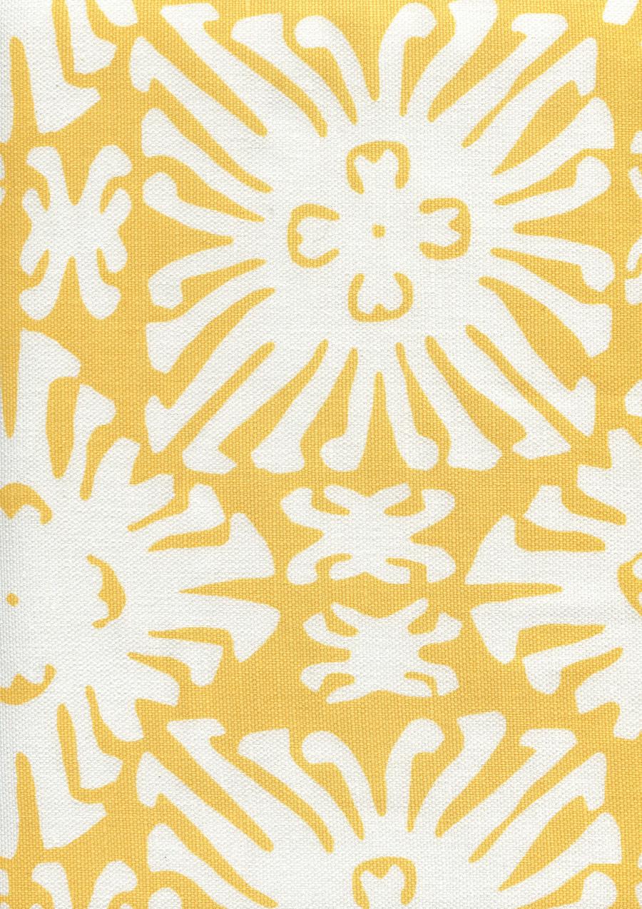 Sigourney Reverse Small Scale Yellow on white 2485 03