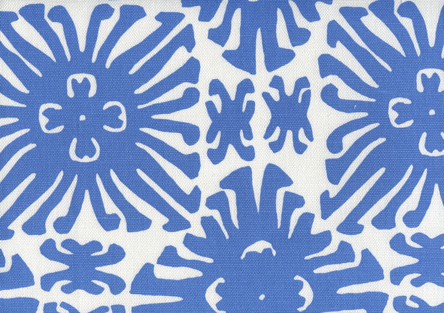 Sigourney Small Scale Royal Blue on white 2475 13