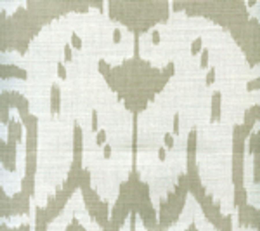 Quadrille Island Ikat Dove Grey on White 6460-31
