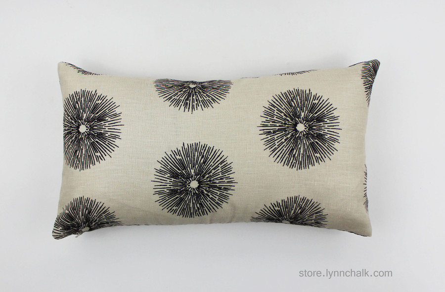 Each Side features a different part of the Sea Urchin Design.