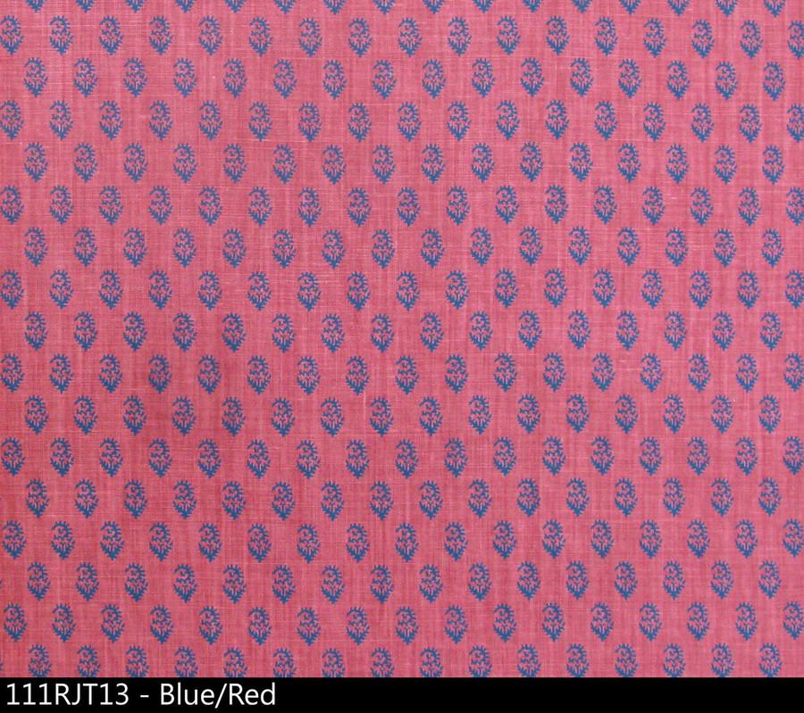 Peter Dunham Rajmata Tonal Blue Red 111RJT13