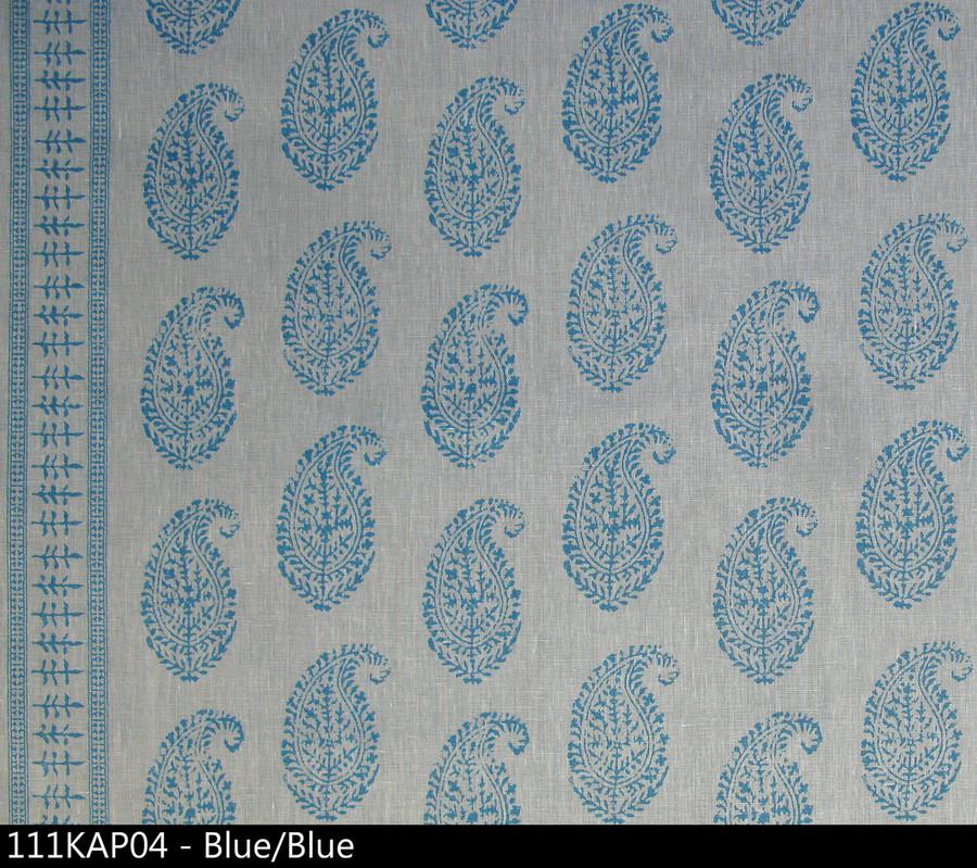Peter Dunham Kashmir Paisley Blue Blue 111KAP04