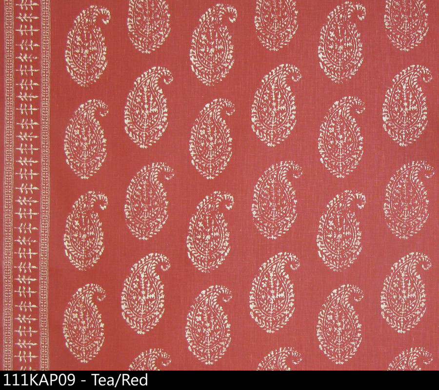 Peter Dunham Kashmir Paisley Tea Red 111KAP09