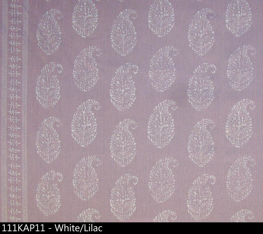 Peter Dunham Kashmir Paisley White Lilac 111KAP11
