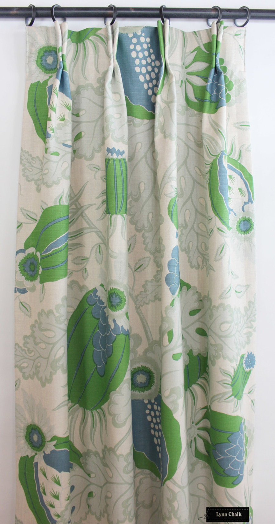 Christopher Farr Carnival Drapes in Green (comes in several colors)