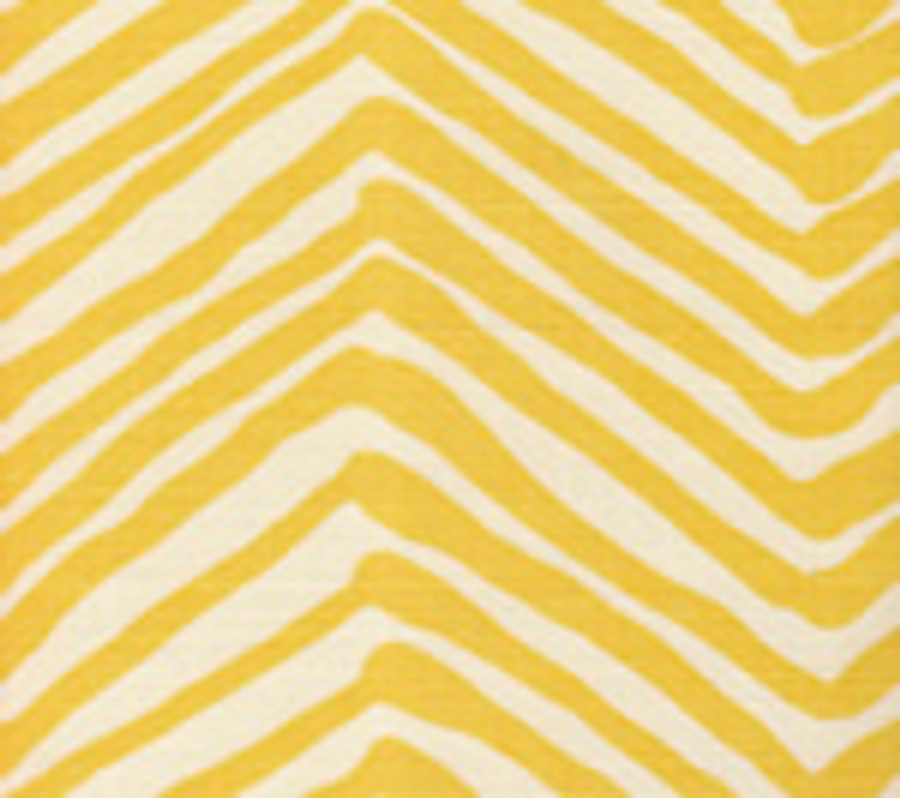 Quadrille Zig Zag in Taxicab Yellow