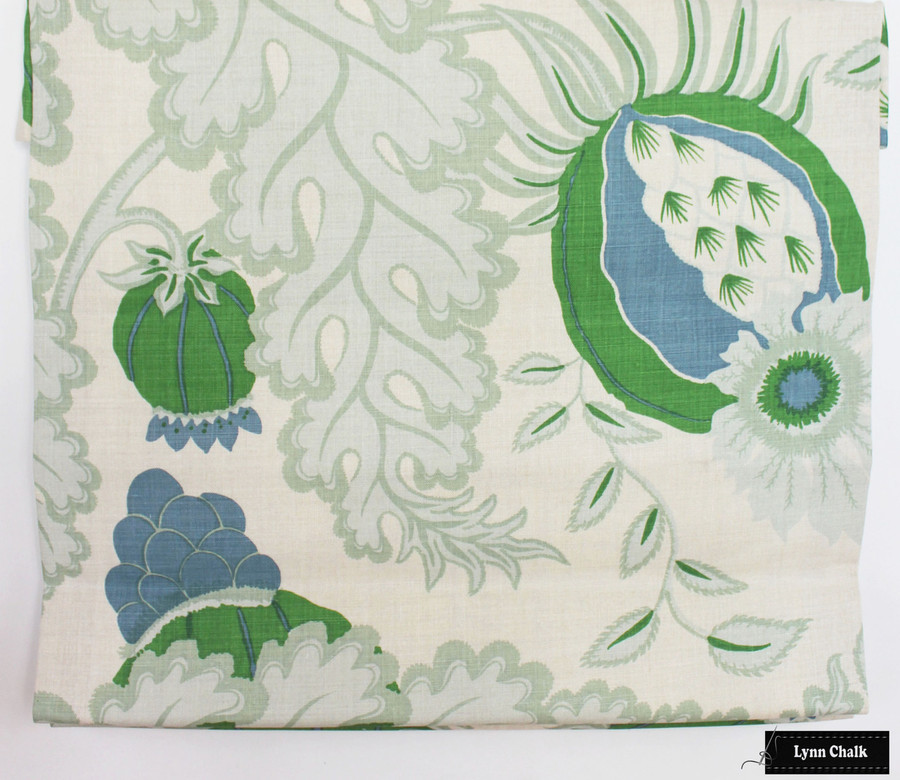 Christopher Farr Carnival Roman Shade in Green